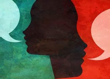 Nasıl iyi konuşulur ve dinlenir üzerine bir resim