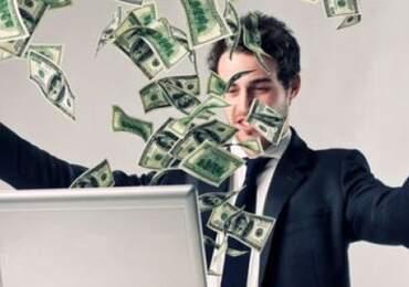 Parası olan bir adam resmi