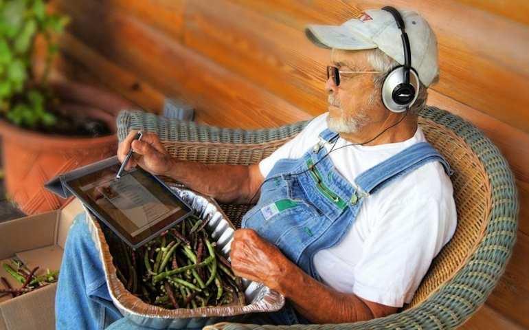 Teknolojiyi kullanan çiftçi kazanıyor. Yenilikçi çiftçi.
