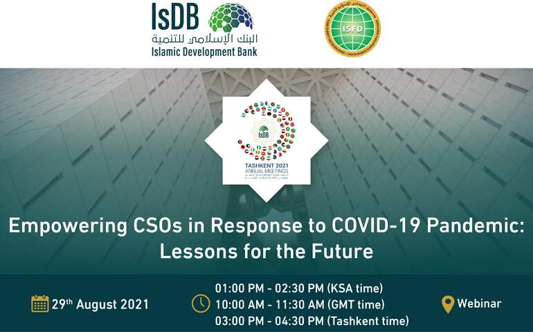 Empowering CSOs in Response to COVID-19 Pandemic: Lessons for the Future