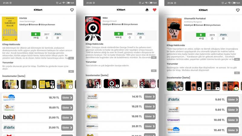 KitSort: Kitap Bul, Fiyat Karşılaştırma - Girişimci Gazetesi